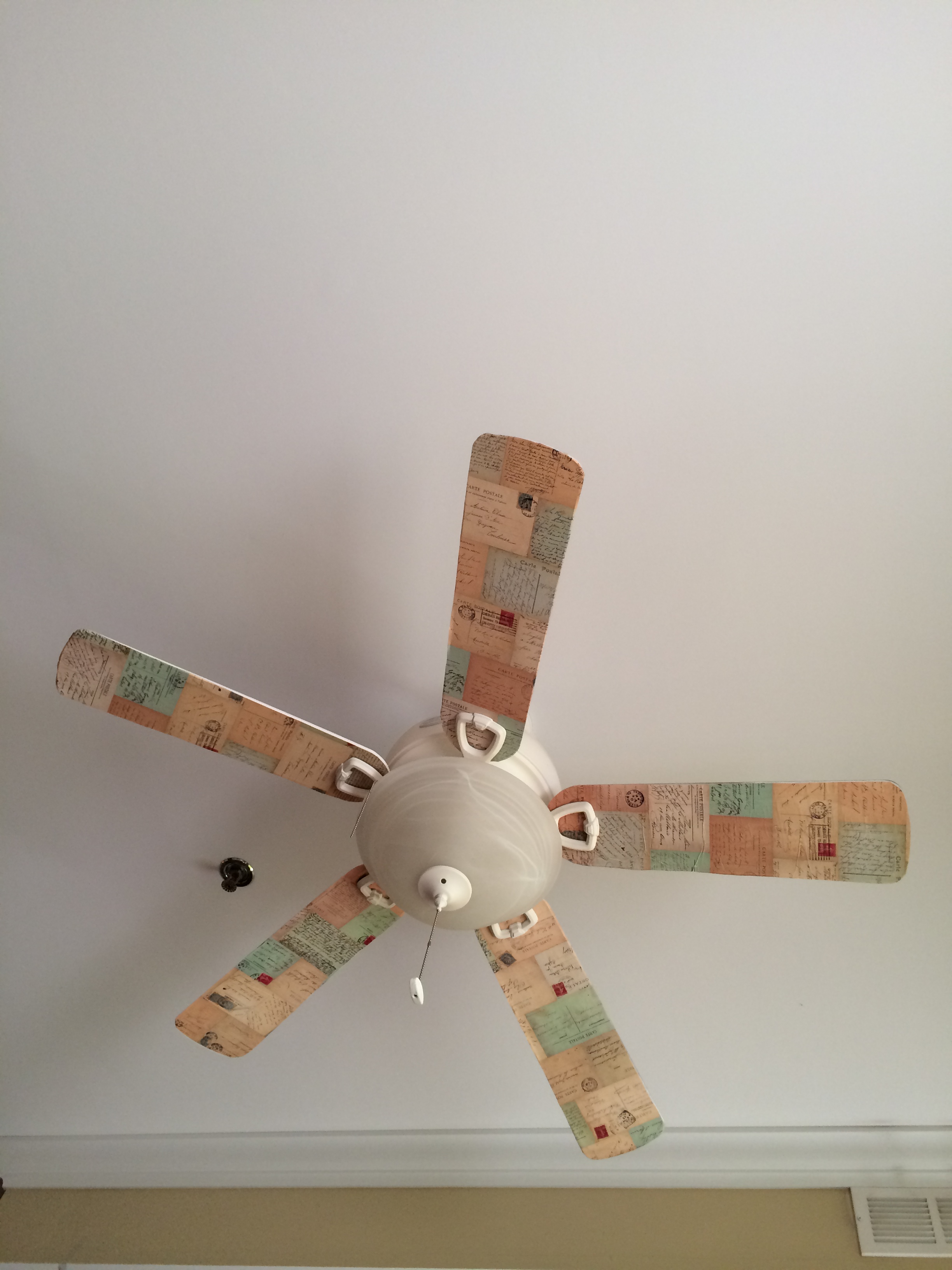 she s crafty ugly ceiling fan